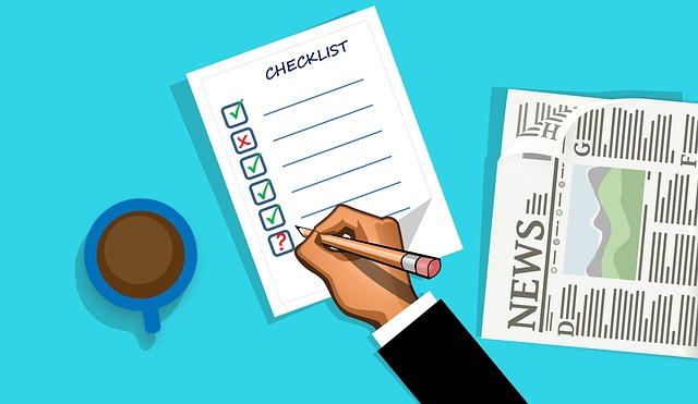 trading checklist - forex trading advice